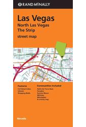 Rand McNally Las Vegas/North Las Vegas/The Strip
