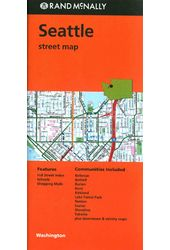 Rand McNally Seattle Street Map