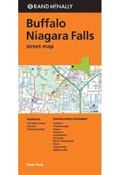 Rand McNally Buffalo/ Niagara Falls Street Map