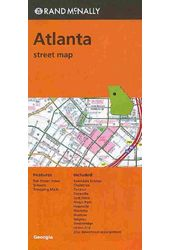 Rand McNally Atlanta Street Map