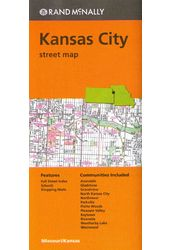 Rand McNally Kansas City Street Map