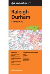 Rand Mcnally Raleigh Durham Street Map