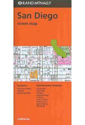 Rand McNally San Diego Street Map
