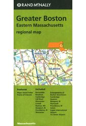 Rand McNally Greater Boston: Eastern