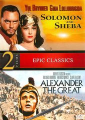 Solomon and Sheba / Alexander the Great (2-DVD)