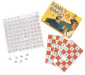 Retro Toy - Family Bingo Vintage Board Game