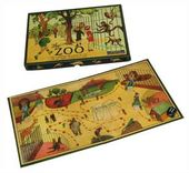 The Zoo Vintage Board Game
