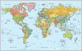 Rand McNally The World Wall Political Map: