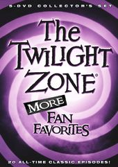 The Twilight Zone - More Fan Favorites (5-DVD)