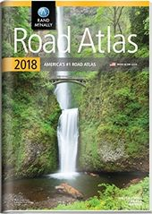 Rand Mcnally 2018 Road Atlas With Vinyl