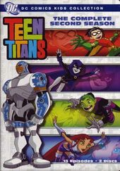 Teen Titans - Complete 2nd Season (2-DVD)