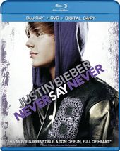 Justin Bieber: Never Say Never (Blu-ray + DVD)