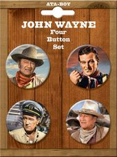 John Wayne - Set Of Four - Buttons