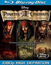 Pirates of the Caribbean Trilogy (Blu-ray)