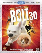 Bolt 3D (Blu-ray + DVD)