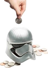 Star Wars - Captain Phasma Ceramic Bank