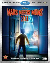 Mars Needs Mom 3D (Blu-ray + DVD)