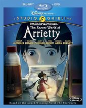 The Secret World of Arrietty (Blu-ray + DVD)
