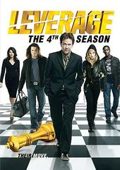 Leverage - Season 4 (4-DVD)