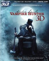 Abraham Lincoln: Vampire Hunter 3D (Blu-ray)