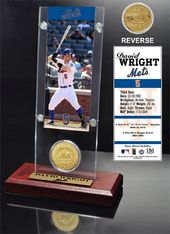 Baseball - David Wright Ticket & Bronze Coin