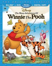 Many Adventures of Winnie the Pooh (Blu-ray + DVD)
