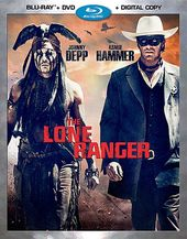 The Lone Ranger (Blu-ray + DVD)