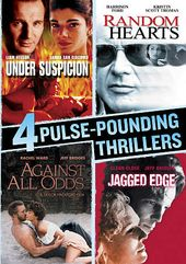 4 Pulse-Pounding Thrillers: Under Suspicion /
