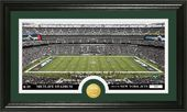 "Football - New York Jets ""Stadium"" Bronze Coin"