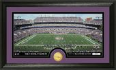 "Football - Baltimore Ravens ""Stadium"" Bronze Coin"