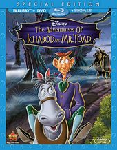 The Adventures of Ichabod and Mr. Toad (Blu-ray +