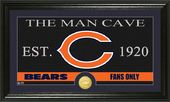 "Football - Chicago Bears ""The Man Cave"" Bronze"