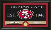 "Football - San Francisco 49ers ""The Man Cave"""
