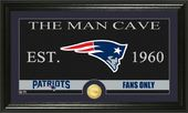 "Football - New England Patriots ""The Man Cave"""