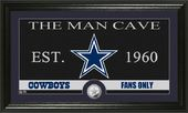 "Football - Dallas Cowboys ""The Man Cave"" Minted"