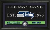 "Football - Seattle Seahawks ""The Man Cave"" Minted"