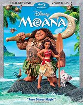 Moana (Blu-ray + DVD)