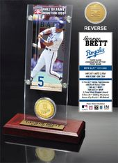 "Baseball - George Brett ""Hall Of Fame"" Ticket &"