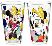 Disney - Minnie Mouse 2pc Pint Glass Set
