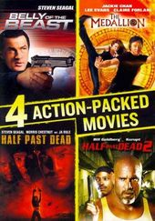 4 Action-Packed Movies Collection: Belly of the