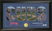 "Baseball - Chicago Cubs - ""Silhouette"" Bronze"