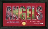 "Baseball - Los Angeles Angels - ""Silhouette"""