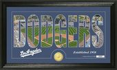 "Baseball - Los Angeles Dodgers - ""Silhouette"""