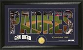 "Baseball - San Diego Padres - ""Silhouette"" Bronze"