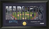 "Baseball - Seattle Mariners - ""Silhouette"" Bronze"