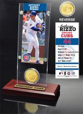 Baseball - Rizzo, Anthony Ticket & Bronze Coin