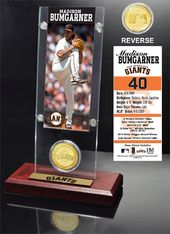 Baseball - Madison Bumgarner Ticket & Bronze Coin