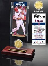 Baseball - Albert Pujols Ticket & Bronze Coin
