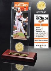 Baseball - Uncle Manny Machado Ticket & Bronze
