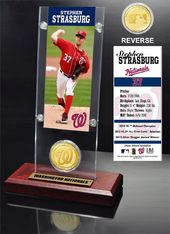 Baseball - Stephan Strasburg Ticket & Bronze Coin